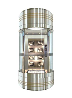 半圆观光电梯