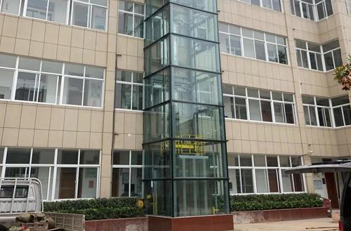 淮安市特殊教育学校加装电梯